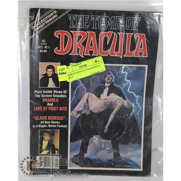 TOMB OF DRACULA MAGAZINE #1 ISSUE