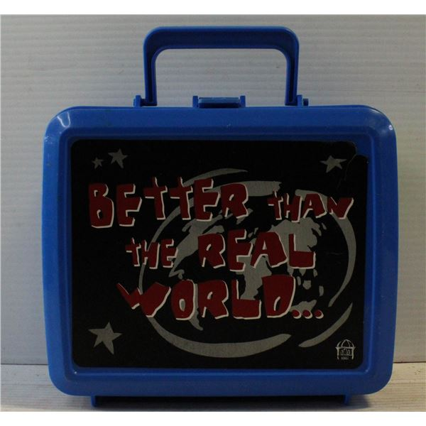 BETTER THAN THE REAL WORLD LUNCHBOX