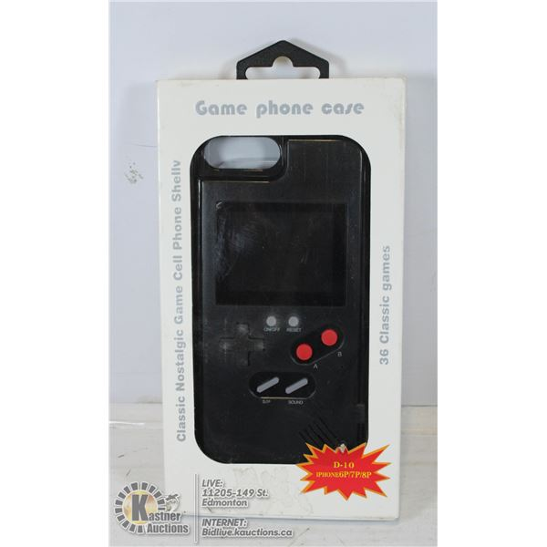 UNCLAIMED NEW WANLE GAME PHONE FOR IPHONE 6P/7P/8P
