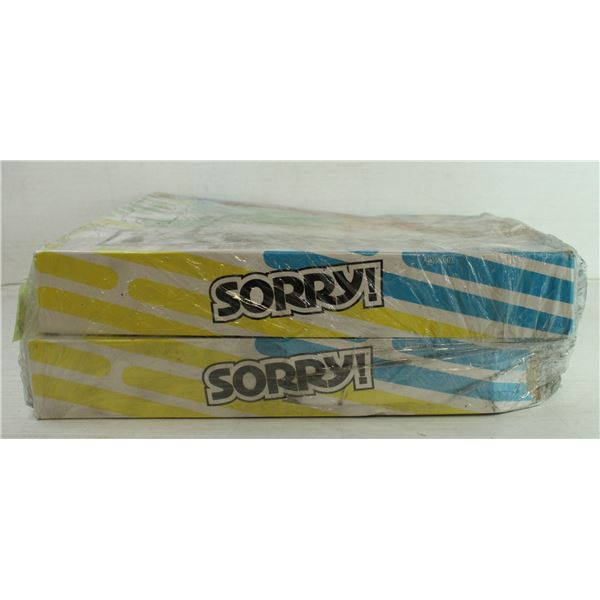 SORRY GAMES PAIR NEW IN WRAP