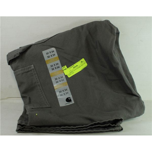 CARHARTT 32 X 34 WORK PANT NEW WITH TAG