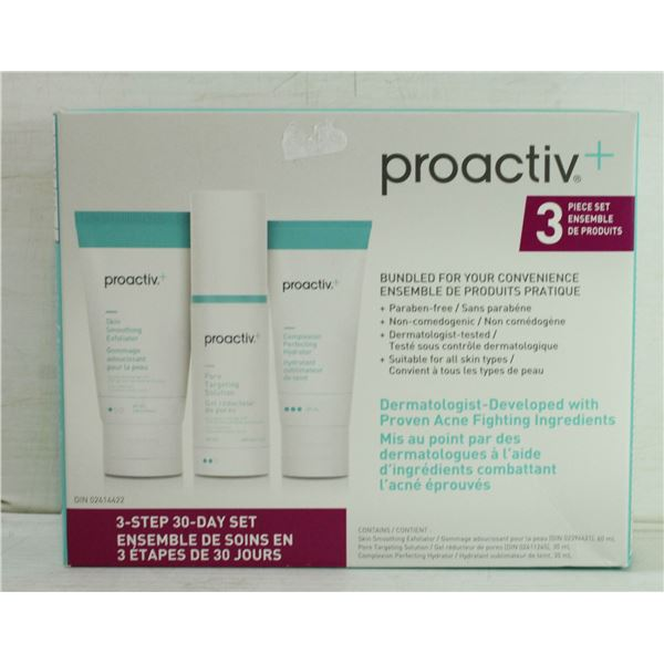 NEW PROACTIVE+ 3 PIECE 30 DAY SET INCLUDES: