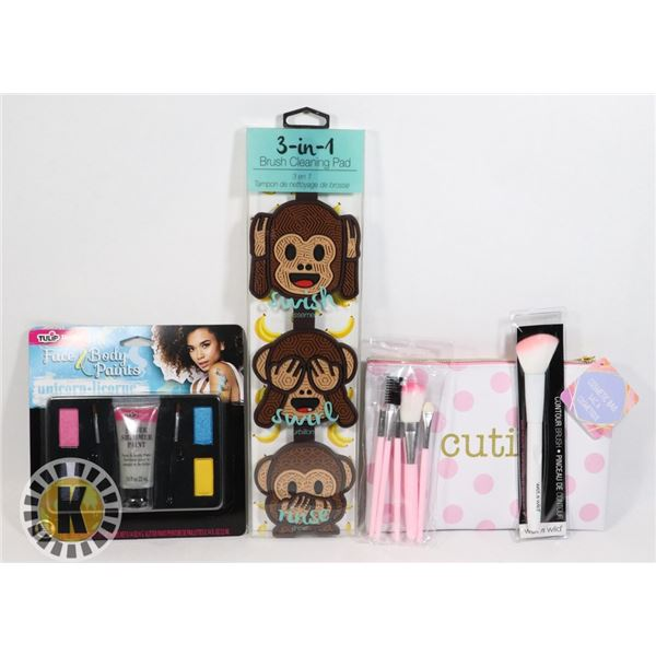 NEW MAKE UP/ACCESSORIES LOT INCLUDES