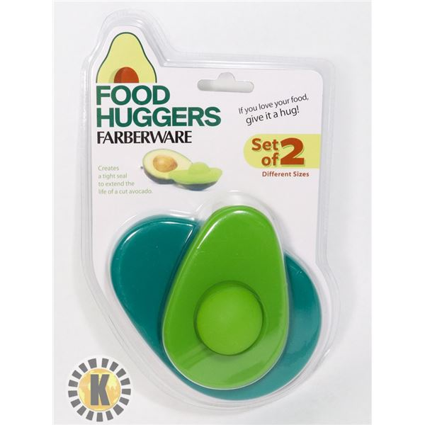 NEW FARREBERWARE FOOD HUGGERS AVOCADO FOOD SAVER