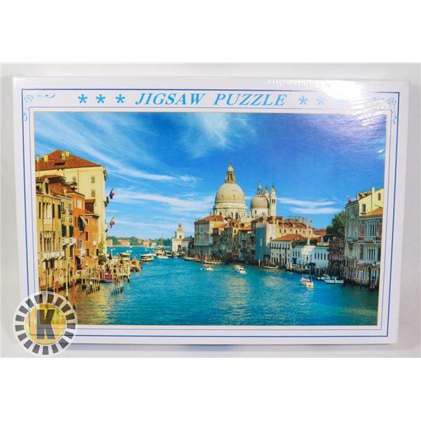 1000PC PUZZLE SIZE 50X75CM ITALY THEME
