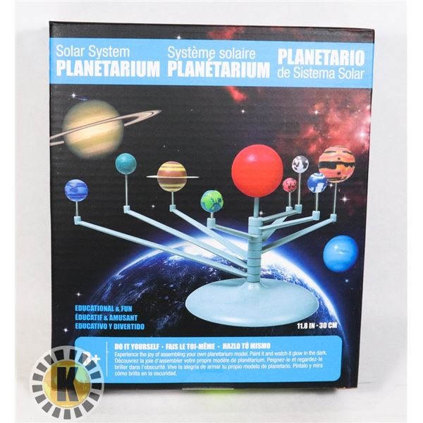 NEW SOLAR SYSTEM PLANETARIUM SCIENCE TOY