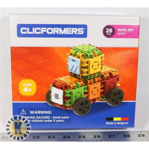 NEW CLICFORMERS 28 PCS