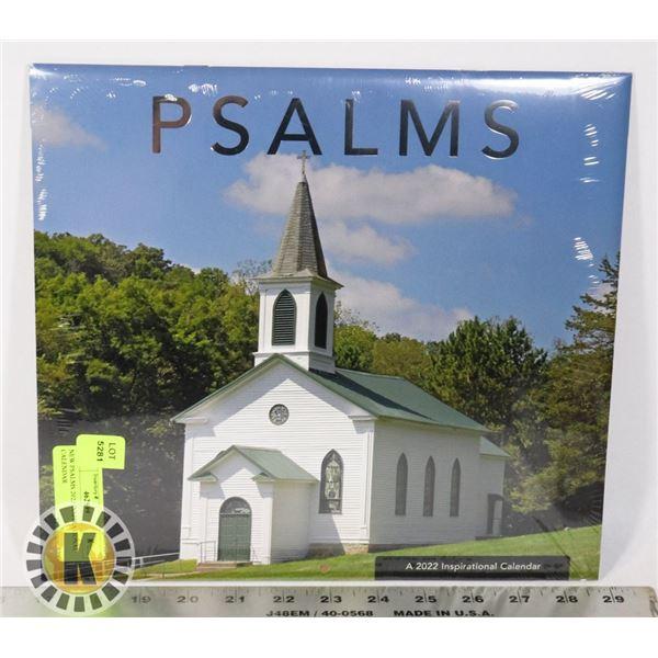 NEW PSALMS 2022 INSPIRATIONAL CALENDAR