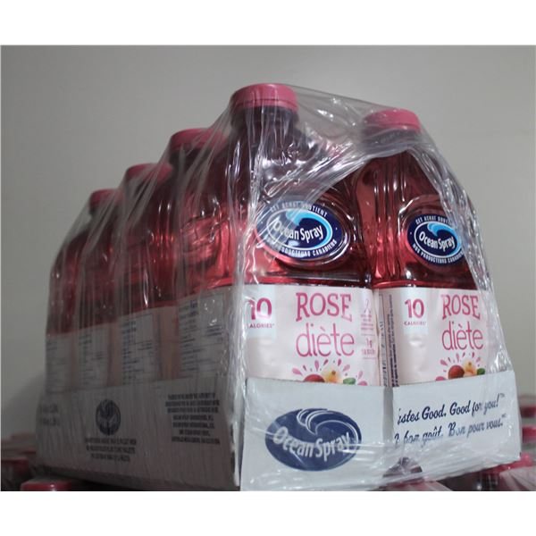 3 CASES OF 8 - 1.89LITRES OF DIET CRANBERRY JUICE