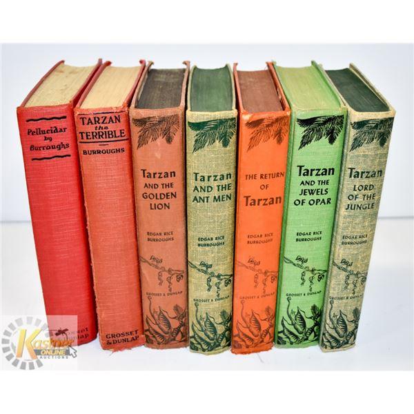 ANTIQUE TARZAN HARD COVER BOOK