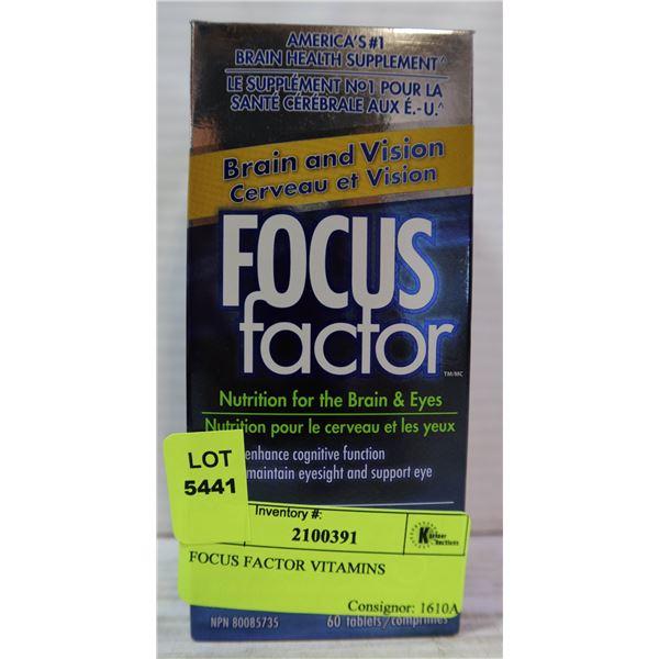 FOCUS FACTOR VITAMINS