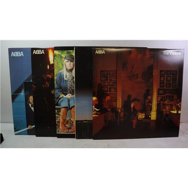 ESTATE COLLECTION OF ABBA LP RECORDS