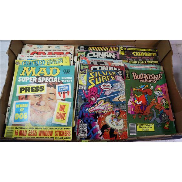 VINTAGE MAGAZINES AND COMICS