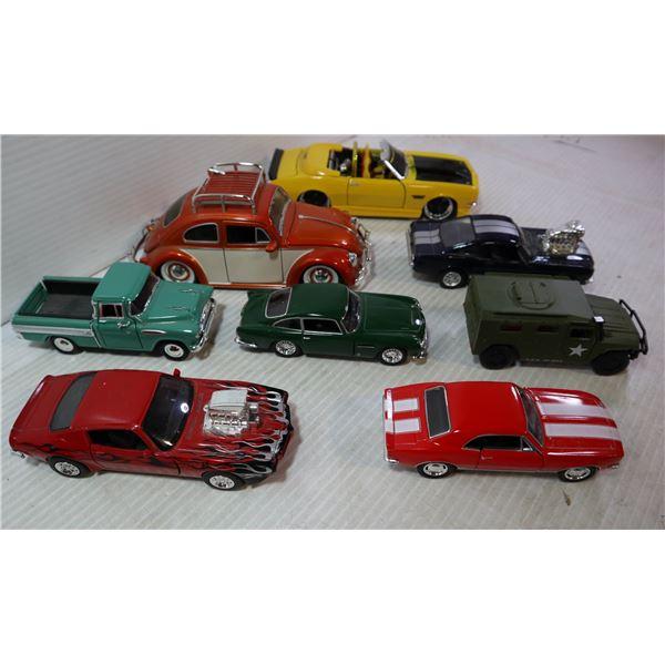 FLAT OF DIECAST CARS
