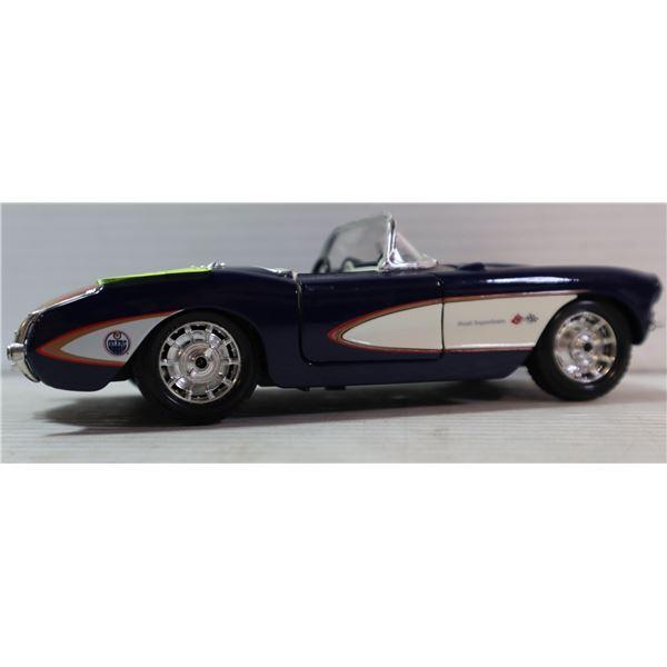 1/24 SCALE OILERS 1950'S CORVETTE DIECAST CAR