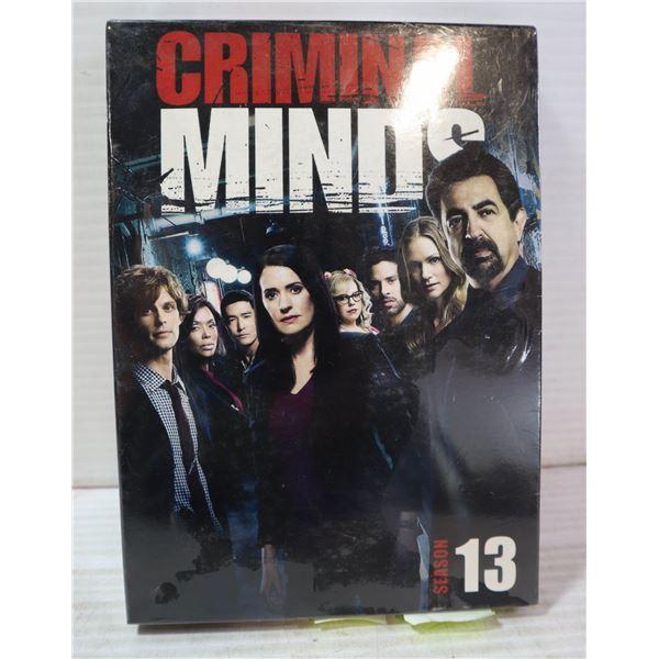 CRIMINAL MINDS SEASON 13 DVD SET