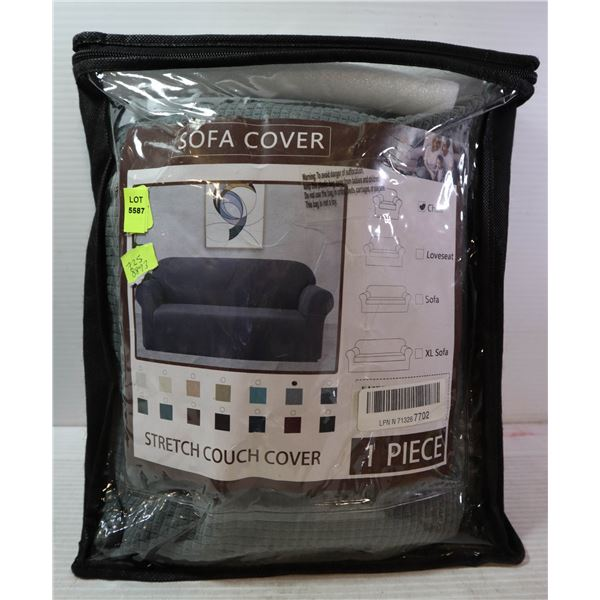 NEW CHAIR COVER - STRETCHABLE - GREY