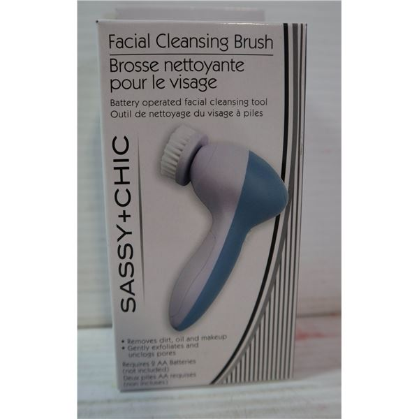 NEW FACIAL CLEANSING BRUSH