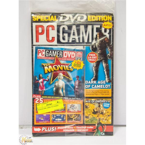 SEALED 2006  APRIL PC GAMER