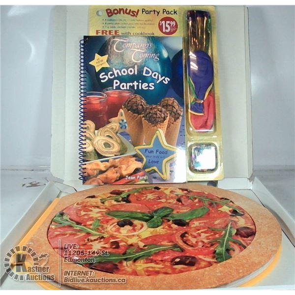 PIZZA & COMPANYS COMING COOKBOOKS