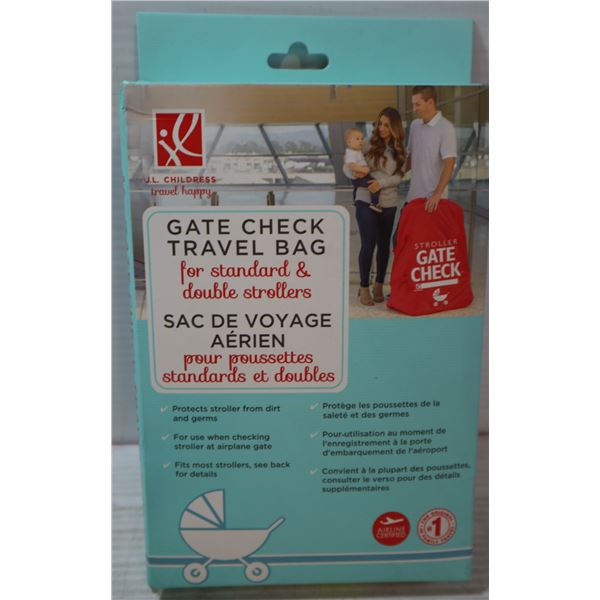 GATE CHECK TRAVEL BAG FOR STANDARD AND DOUBLE