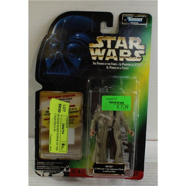KENNER STAR WARS POWER OF THE FORCE HAN SOLO IN