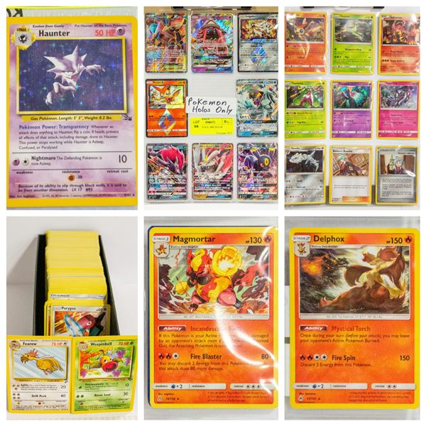 FEATURED POKEMON COLLECTOR CARDS