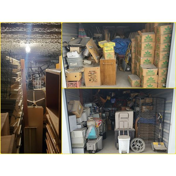 FEATURED UNCLAIMED STORAGE LOCKERS