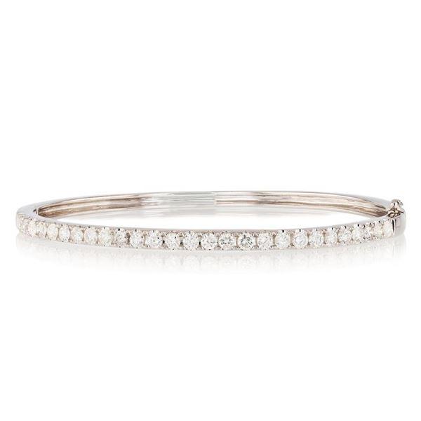 1.93 ctw SI1 Diamond 14K White Gold Bracelet
