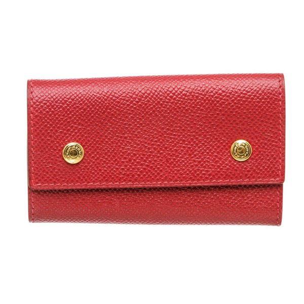 Hermes Red Epsom Leather 6 Key Holder