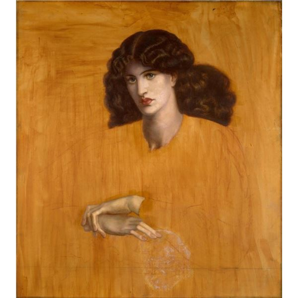 Rossetti - The Lady of Pity