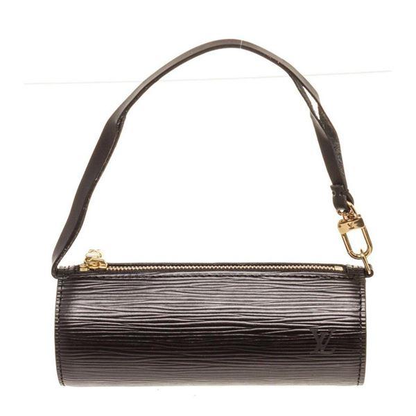 Louis Vuitton Black Epi Leather Mini Papillon Shoulder Bag