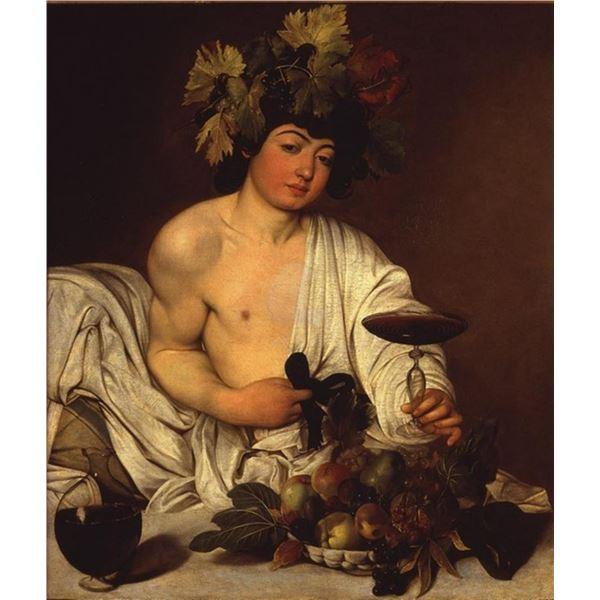 Michelangelo Merisi da Caravaggio  - The Adolescent Bacchus