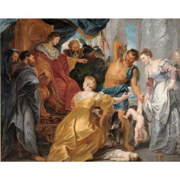 Sir Peter Paul Rubens - The Judgement of Solomon