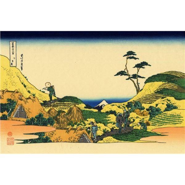 Hokusai - Shimomeguro