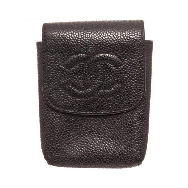 Louis Vuitton Black Cigarette Case Clutch