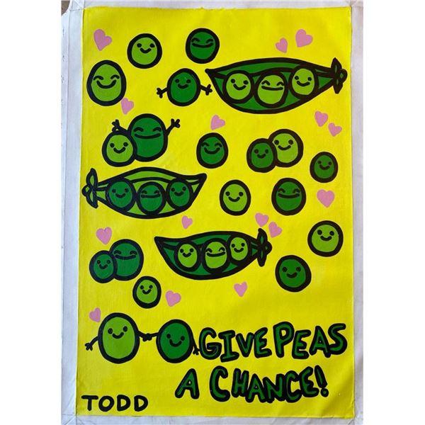 "Todd Goldman ""Give Peas A Chance"""