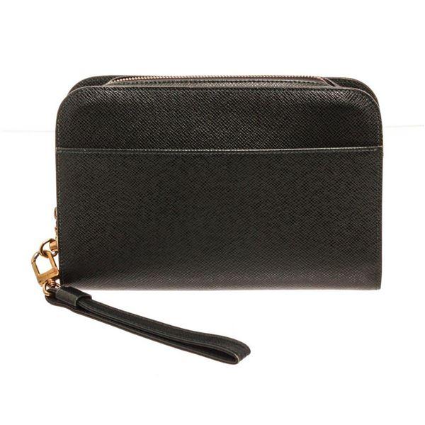 Louis Vuitton Black Baikal Pochette Clutches