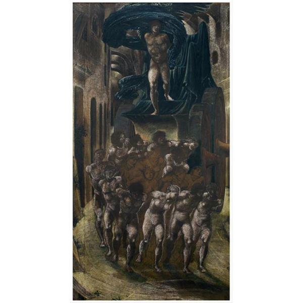 Edward Burne-Jones - The Car of Love