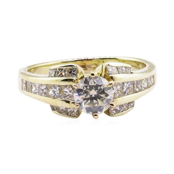 1.84 ctw Diamond Ring - 14KT Yellow Gold