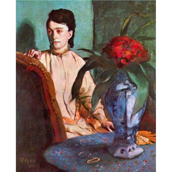 Edgar Degas - Seated Woman