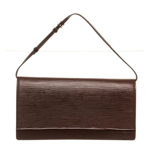 Louis Vuitton Brown Epi Leather Honfleur Shoulder Bag