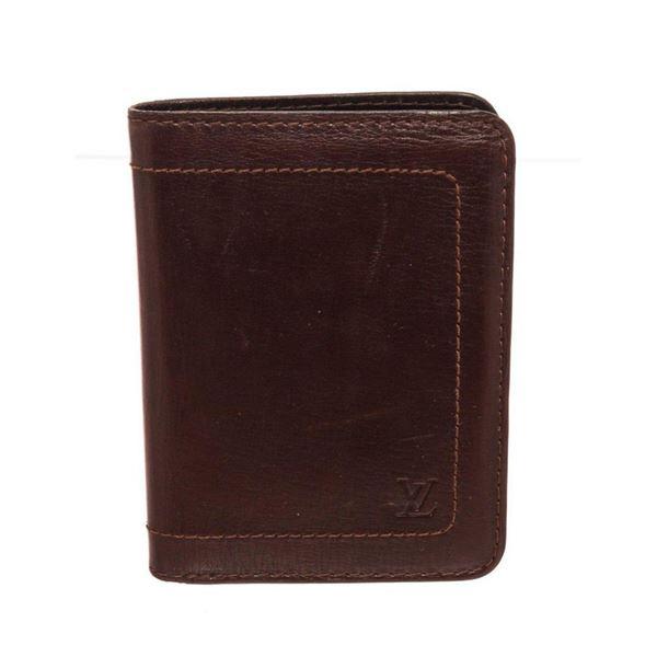 Louis Vuitton Brown Multi Card Wallet