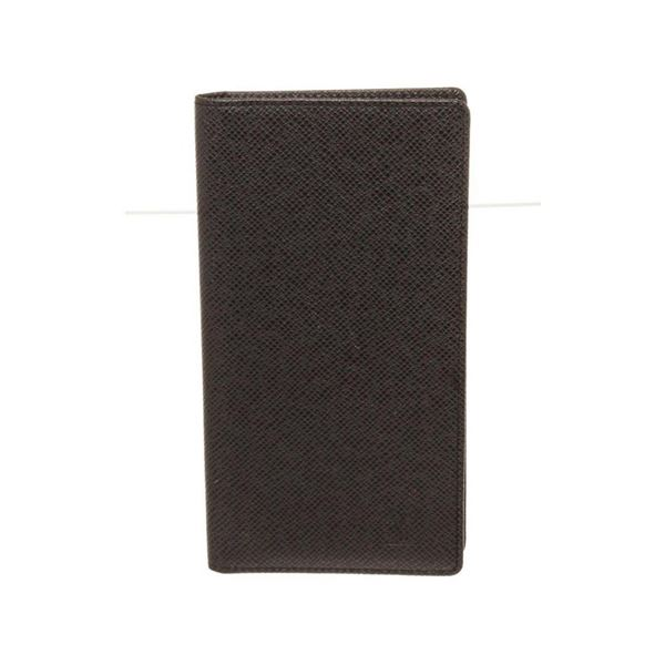 Louis Vuitton Black Taiga Leather Wallet