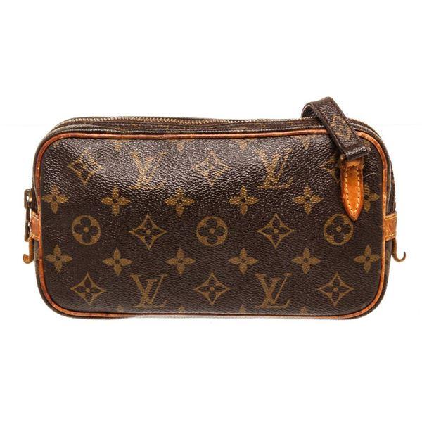 Louis Vuitton Brown Marly Crossbody Bag