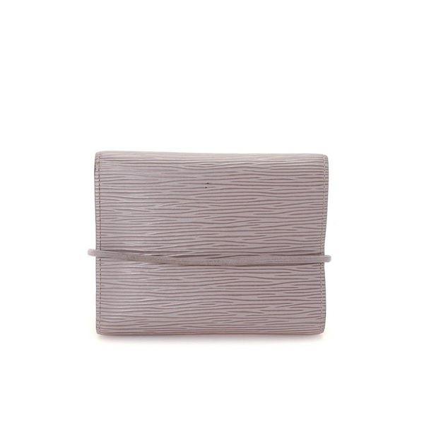 Louis Vuitton Grey Lilac Porte Monnaie Elastiqu Wallet