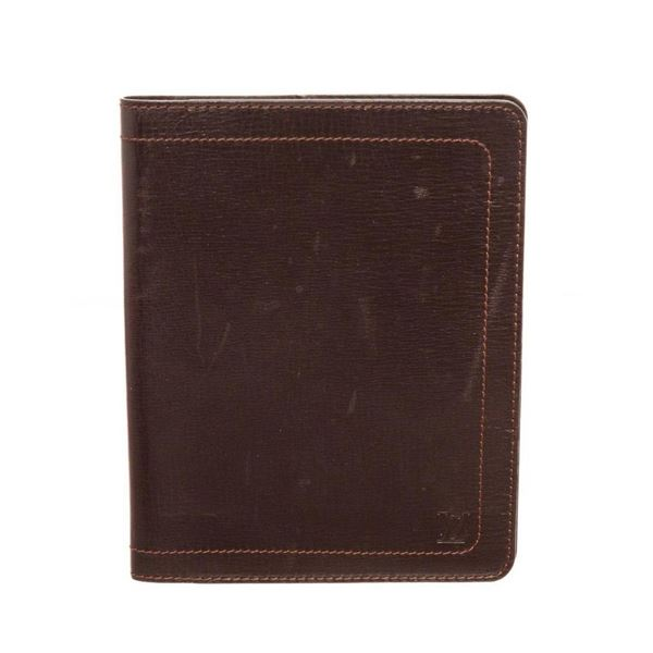 Louis Vuitton Brown Agenda GM Wallets