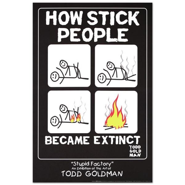 How Stick People Became Extinct by Goldman, Todd