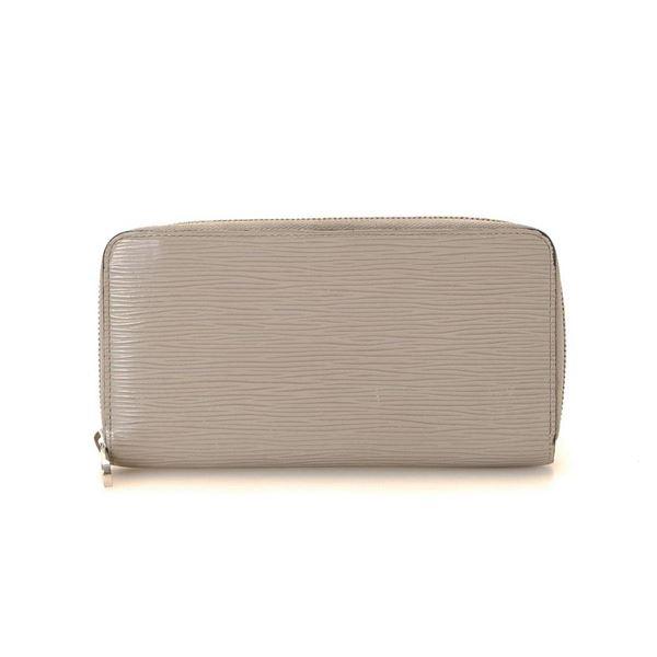 Louis Vuitton Grey Epi Leather Zippy Wallet