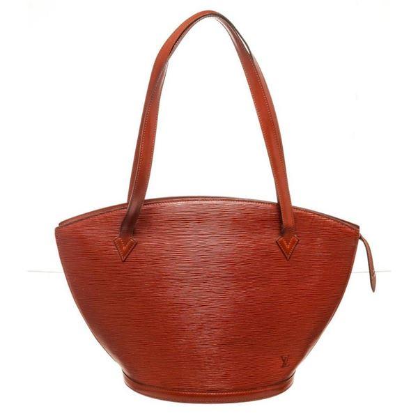 Louis Vuitton Burgundy St. Jacques GM Tote Bag